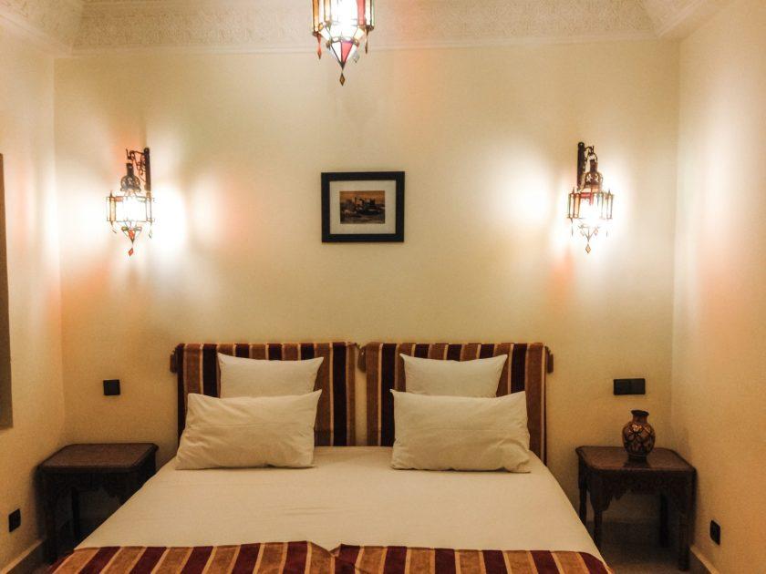 Unser Doppelzimmer Riad Signature Marrakesch