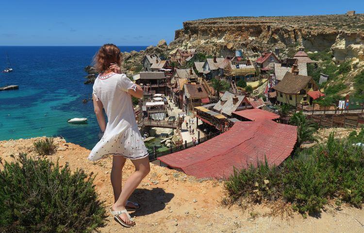 Popeye Village on Malta
