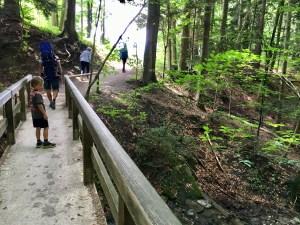 Am Tegernsee wandern mit Kindern