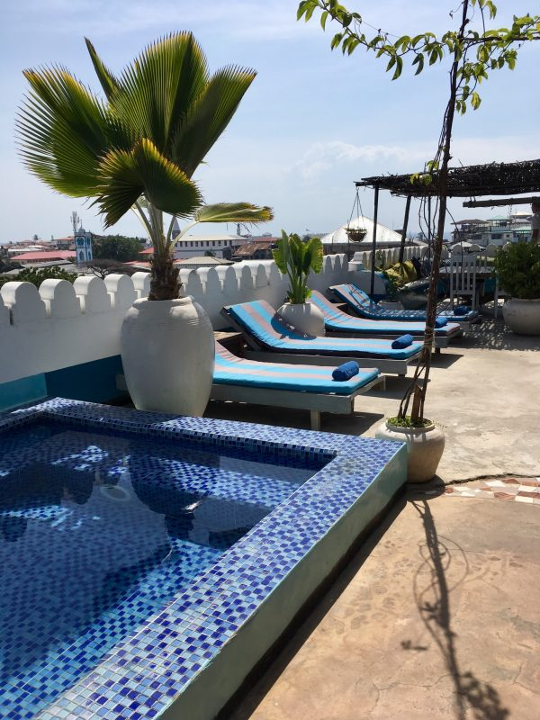 Rooftop-Bar in Stone Town