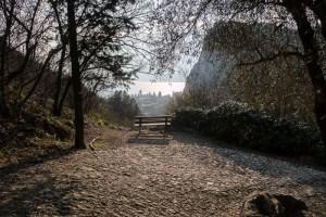 Wanderung über dem Gardasee von Reisepsycho