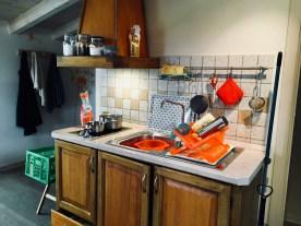 Kitchenette im Apartment Cielo