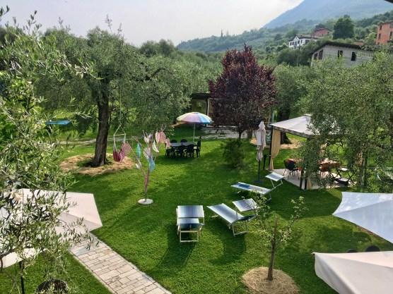Hippie-Garten im Campolivo