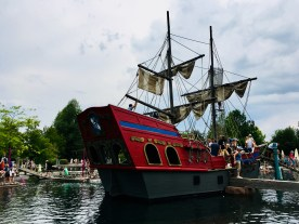 Piratenschiff im Piratensee