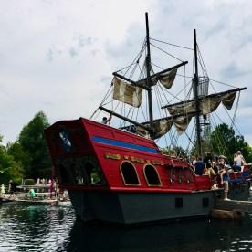 Piratenschiff im Piratensee
