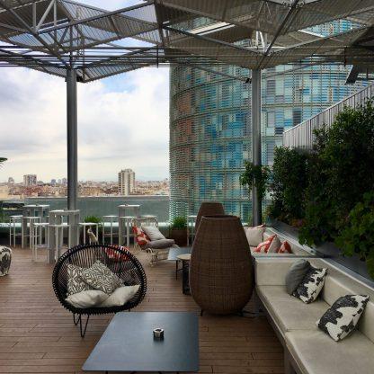 Lounge Area The Gates Hotel Barcelona