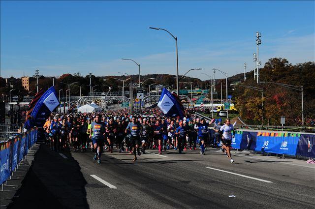 Start New York Marathon