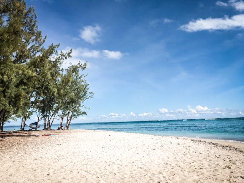 Public Beach Le Morne mit 180 Grad Meerblick