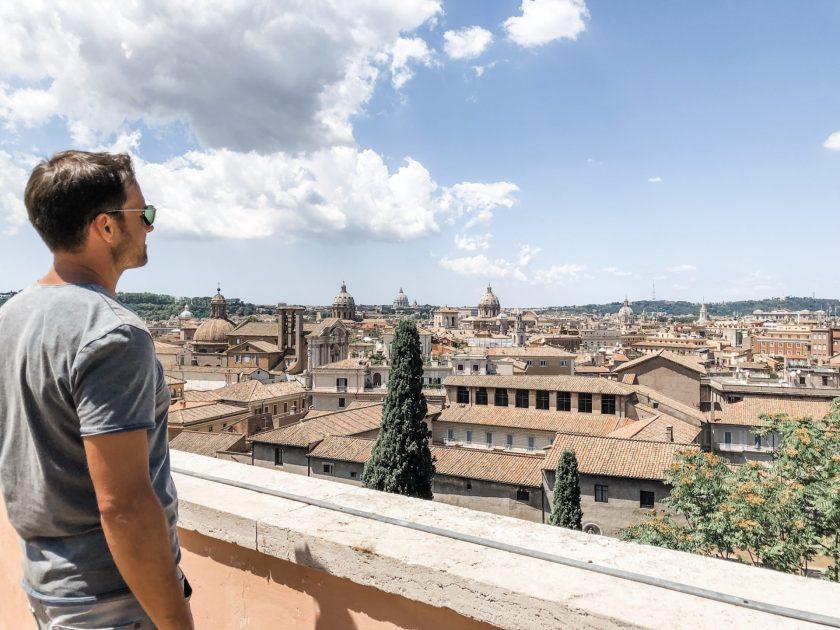 Ausblick von der Terrazza Cafferelli