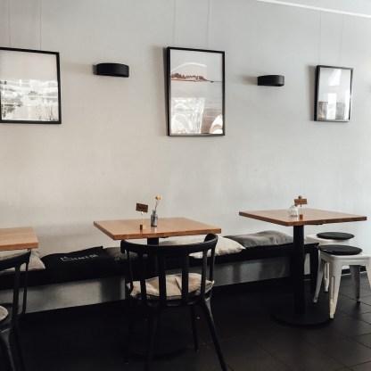Cool interiors in the Cafe Da