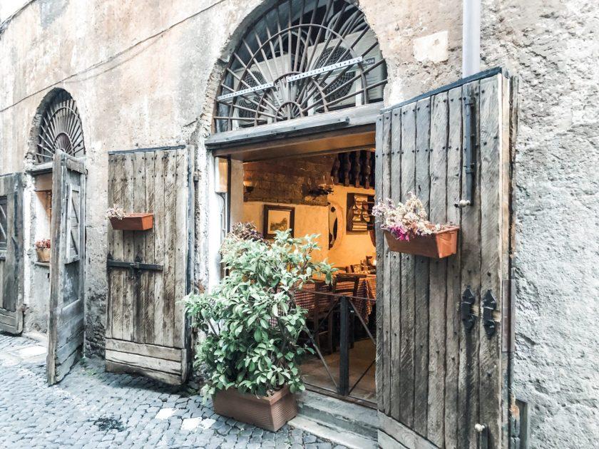 La Taverna de Mercanti von Außen