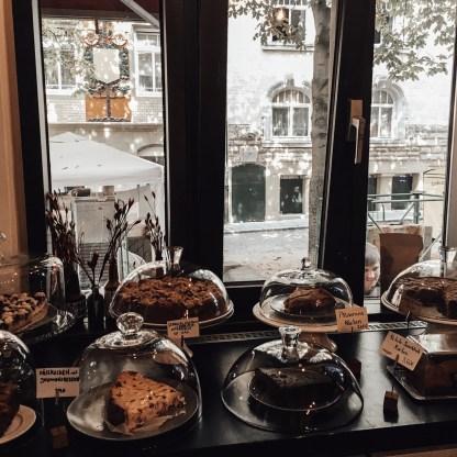 Lecker Kuchen im Café Da