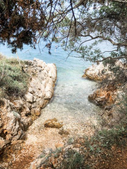 Small bays on the coast