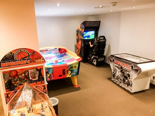 Gaming room for the bigger kids
