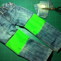 👖Recycling *andenKnienzerisseneJeans*... {Tutorial}