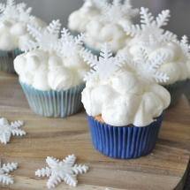 Wolken cupcakes