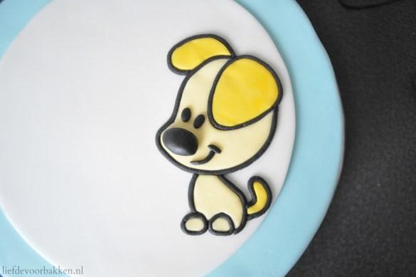 Woezel & Pip taart: hoe maak je een puzzelplaatje?