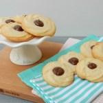 Roomboter koekjes met Nutella
