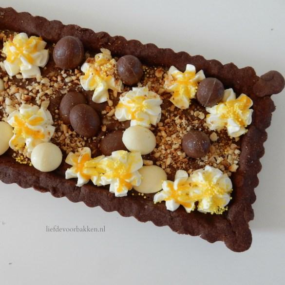 Chocoladevlaai voor Pasen