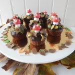 Herfst cupcakes
