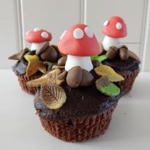 Herfstcupcakes