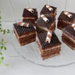 Chocolade gebakjes