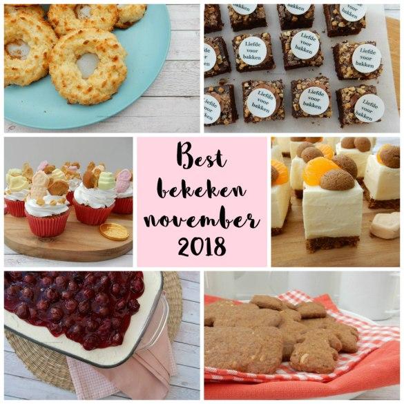 Best bekeken recepten november 2018