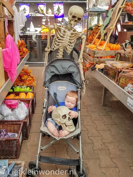 Jayden 8 maanden en 2 weken oud halloween