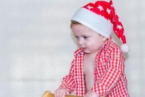 Kerst shoot - Kerst fotoshoot van Jayden
