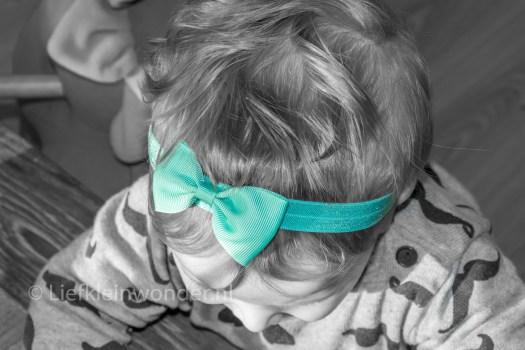 Win actie - super lieve baby haarbandjes