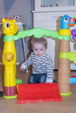 Jayden's eerste verjaardag , Cadeau, little tikes activity garden, speelgoed