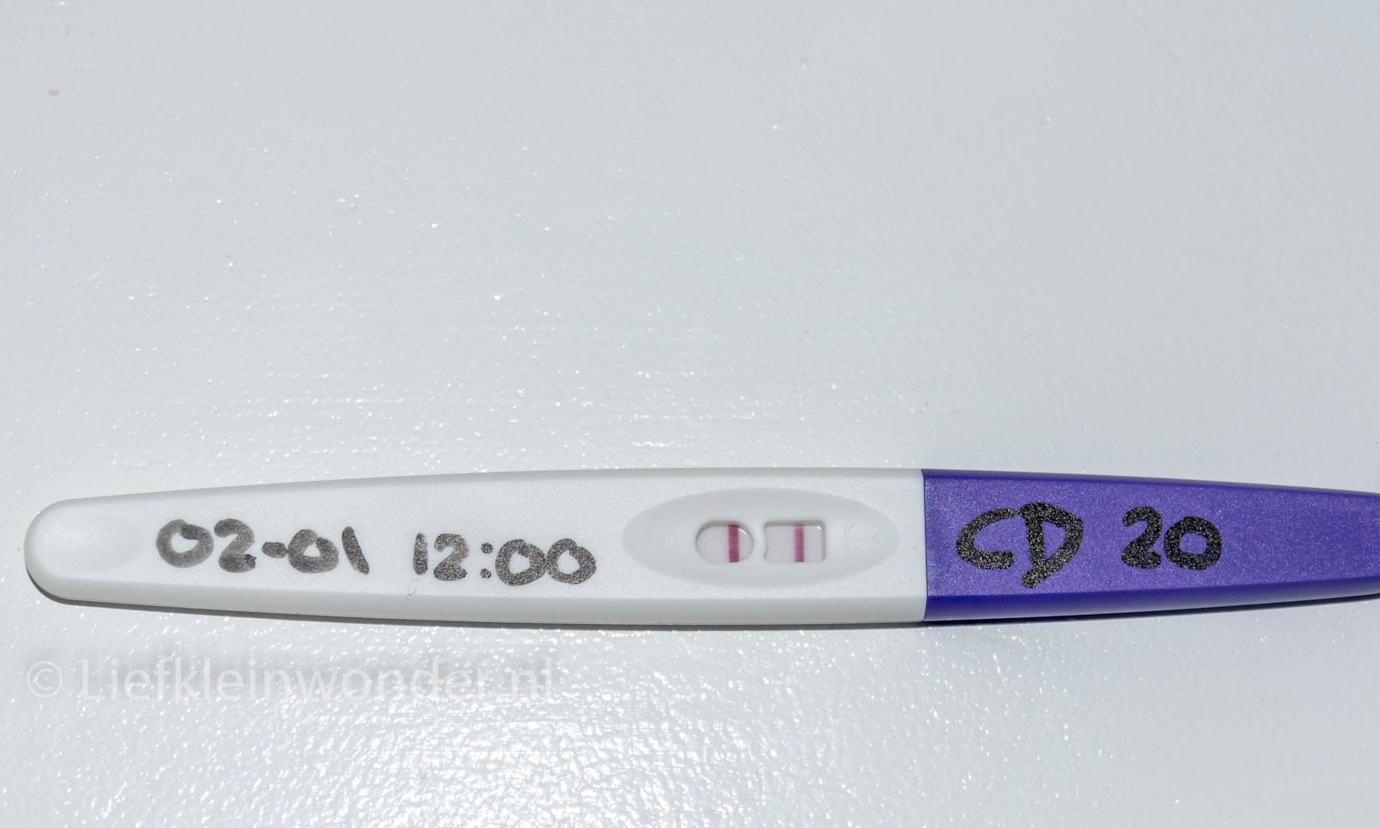 Zwanger worden, positieve ovulatietest Action