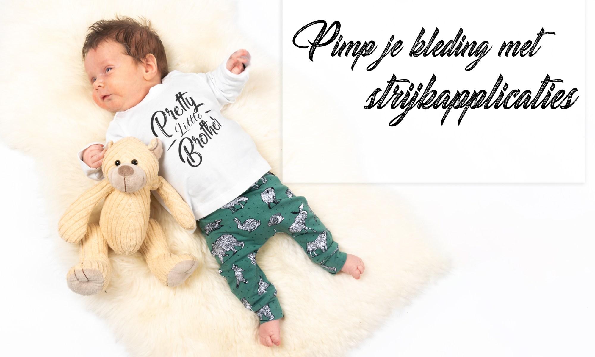 Pimp je eigen kleding met strijkapplicaties blog review mama blog soph's baby en kids baby newborn shoplog www.liefkleinwonder.nl verjaardag sweater 3 jaar