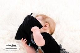 Knisperdoekje met geboortekaartje opdruk Piece of May review mama blog www.liefkleinwonder.nl