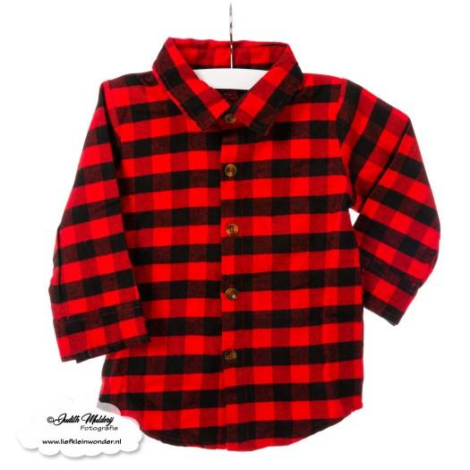 Kinderbijslag shoplog shoppen gekocht aankopen mama blog www.liefkleinwonder.nl houthakkers overhemd blouse jongen zwart rood kick it with my mom