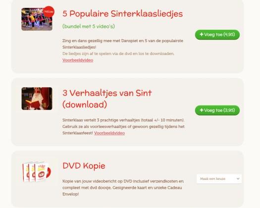 Video van Sint persoonlijke boodschap review mama blog www.liefkleinwonder.nl Sinterklaas dvd Koter kado