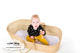 Sweet and small nieuwe baby collectie 2019 Finley tuinpakje broekje roest khaki (191)
