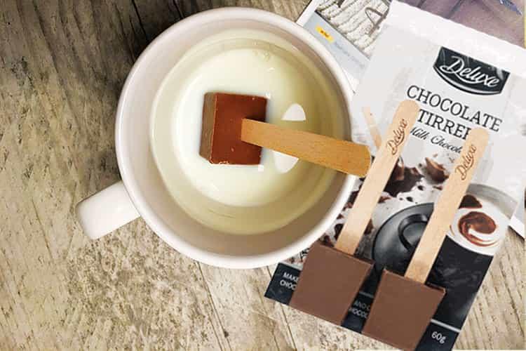 Delicieux - Blok of Choc voor chocolademelk van Lidl