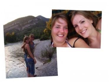 Ook dat jaar ging ik weer met een vriendin mee op vakantie