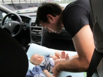 verschonen in de auto