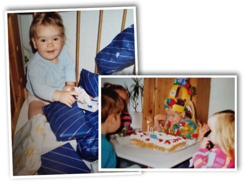 Kleine Jodi viert feest...