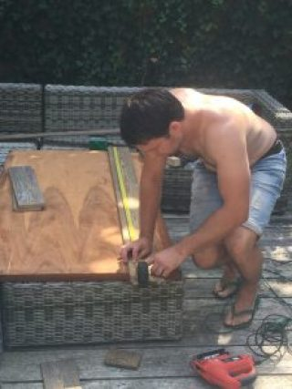 tuintafel maken