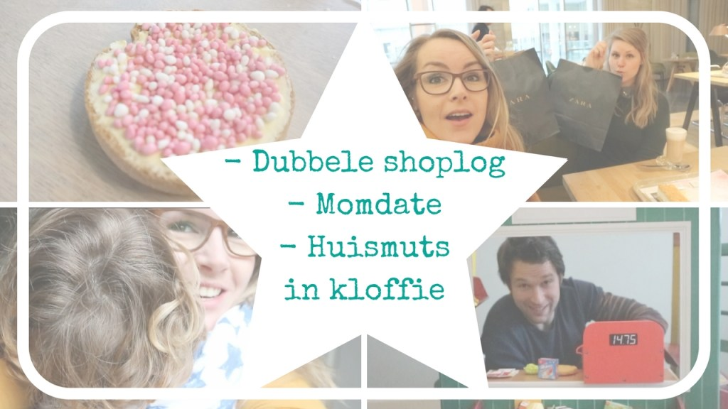 Weekendvlog #2: Shoplog, schatzoeken, momdate…