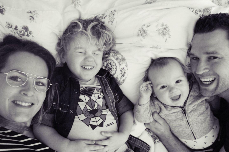 Avondroutine met een baby en een peuter…
