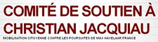 Soutien à Christian Jacquiau