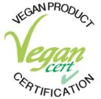 label vegan Vegancert