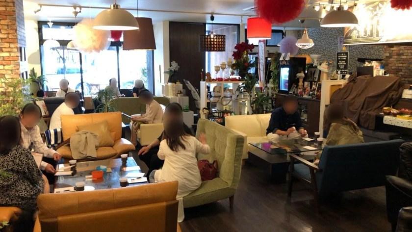 2019/6/9静岡市のカフェ1LDKでの婚活パーティーの様子2