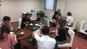2019/6/8アパホテル富士中央の富士の間での婚活パーティー1