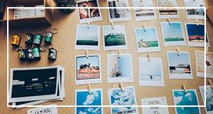 Polaroid Keychain