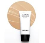 顔色 修正 透明皮膚 エイジングケア 保湿ケア UVケア 肌を整える作用 カバー力  効果 クリーム シャネルCCクリーム SPF 30 PA+++
